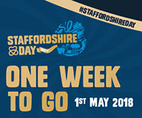 Staffordshire Day 2018 one week to go