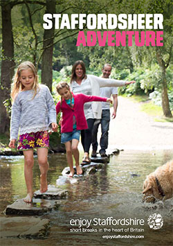 Staffordsheer Adventure brochure front cover