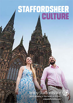 Staffordsheer Culture brochure front cover