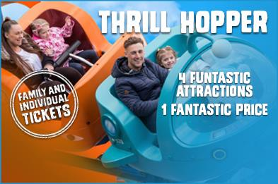 Buy thrill hopper, both family and individual tickets available
