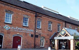 Front of the Brewhouse Arts Centre