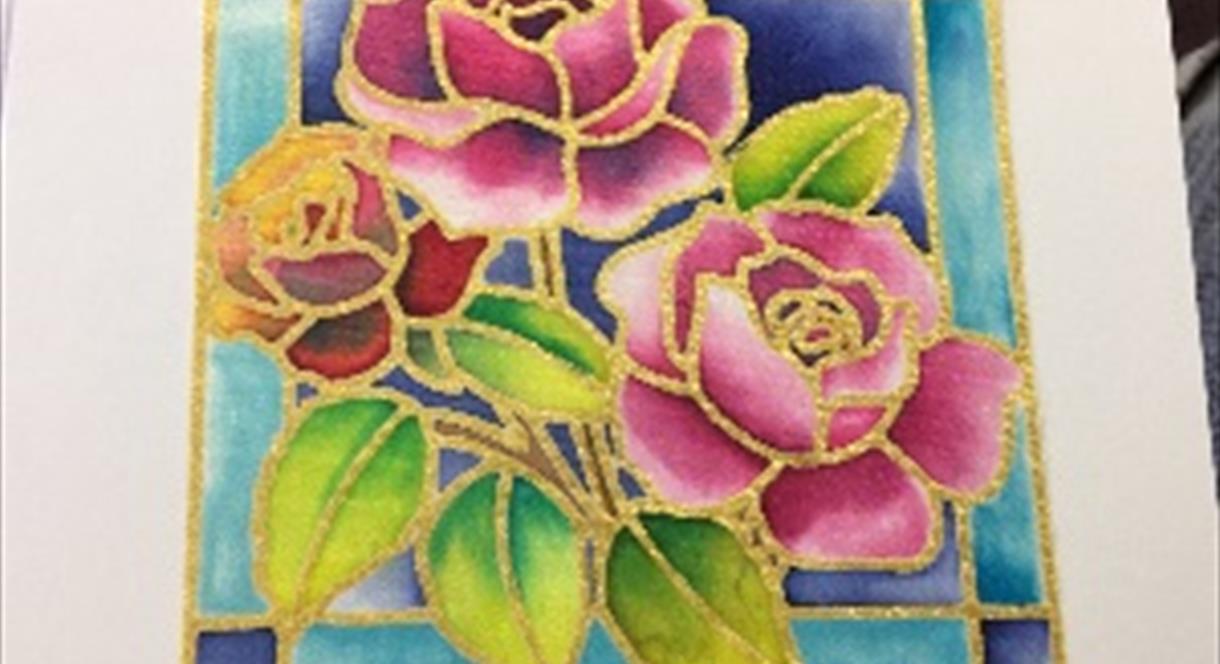 Silk Painting Workshop Enjoy Staffordshire