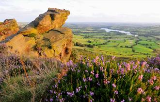 The view from the Roaches, photo by Cathy Bower