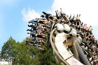 Nemesis rollercoater at Alton Towers Resort