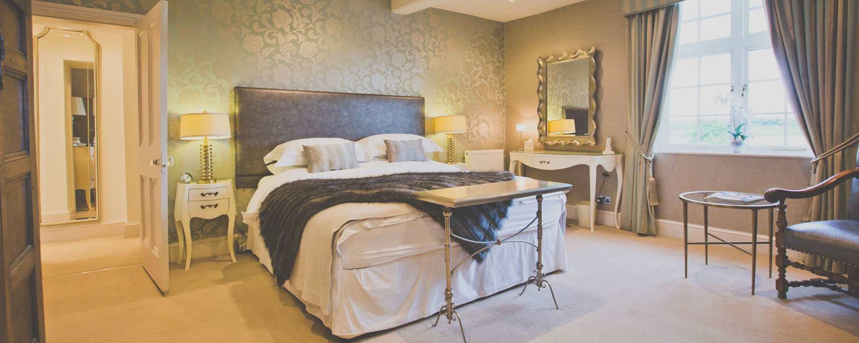 Boutique B&B with opulent interiors