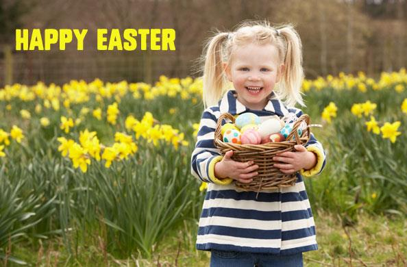 Have a Happy Easter in Staffordshire.