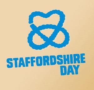 A gold version of the Staffordshire Day logo
