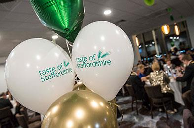2018 Taste of Staffordshire Good Food Awards which was held at Uttoxeter Racecourse