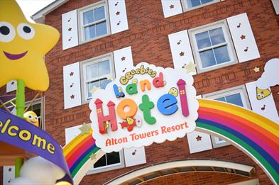 Welcome to the new CBeebies Land Hotel, the only one of its kind in the world.