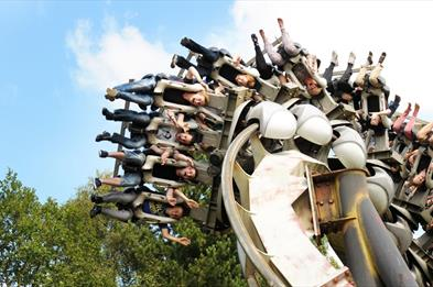 Nemesis rollercoaster at Alton Towers Resort
