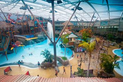 Alton Towers Water-park - a piece of the Caribbean in Staffordshire