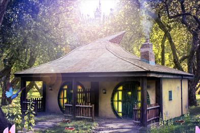 Alton Towers Enchanted Village Woodland Lodges