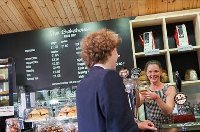 The Bakehouse Café Bar at the Trentham Estate