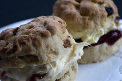 Treat yourself to a homemade scone
