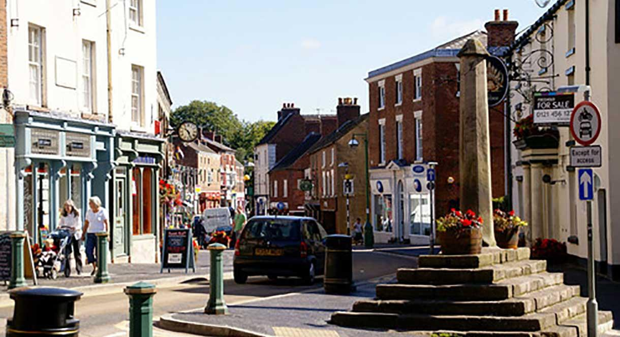 Cheadle Town In Cheadle Enjoy Staffordshire