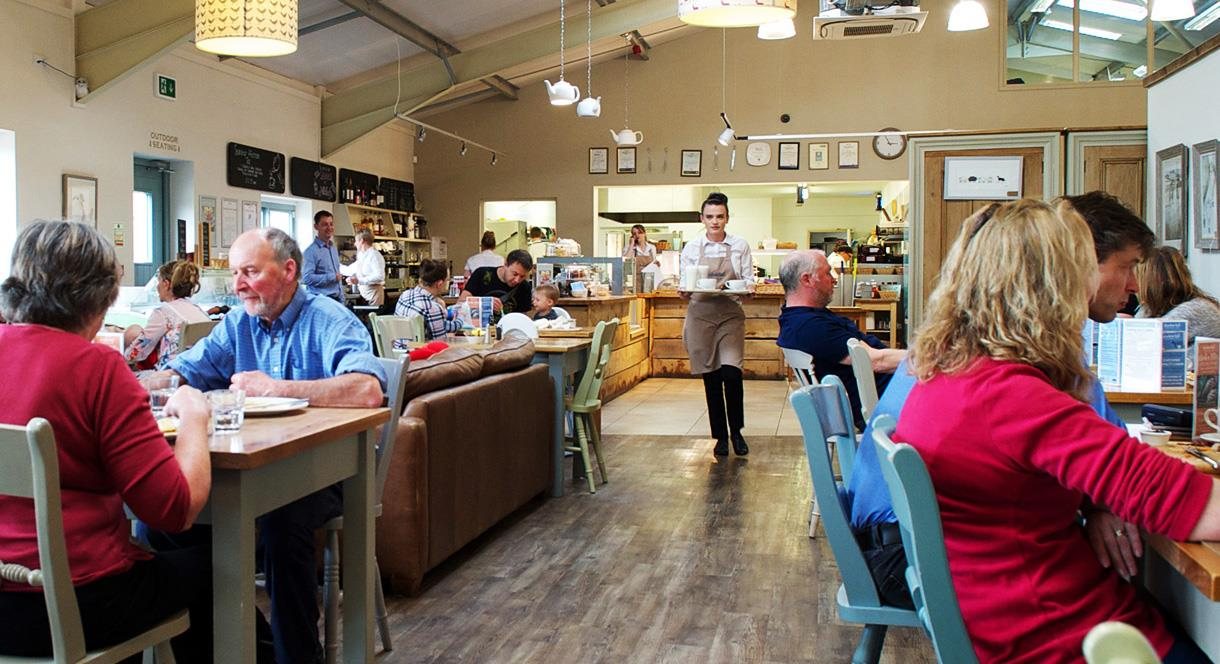 Enjoy the atmosphere is this popular tea room