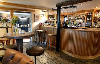 Bar area at Duncombe Arms