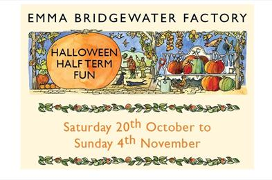 Emma Bridgewater Factory Halloween Half Term Fun