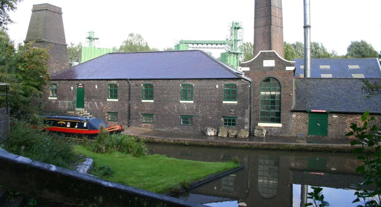 Shirley's 1857 Bone and Flint Mill