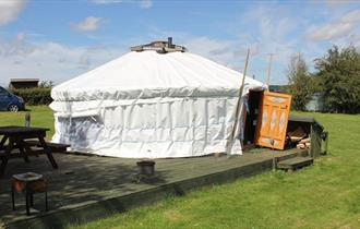 Mongolian Yurt at Glamping West Midlands