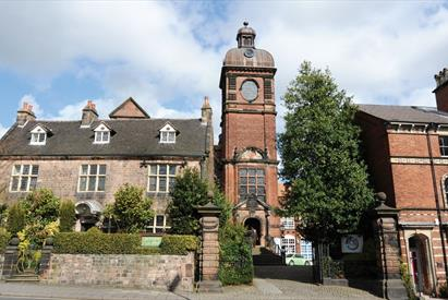 Leek Tourist Information Centre is housed in the historic Nicholson Institute