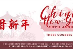 Chinese New Year at The Meynell Ingram Arms