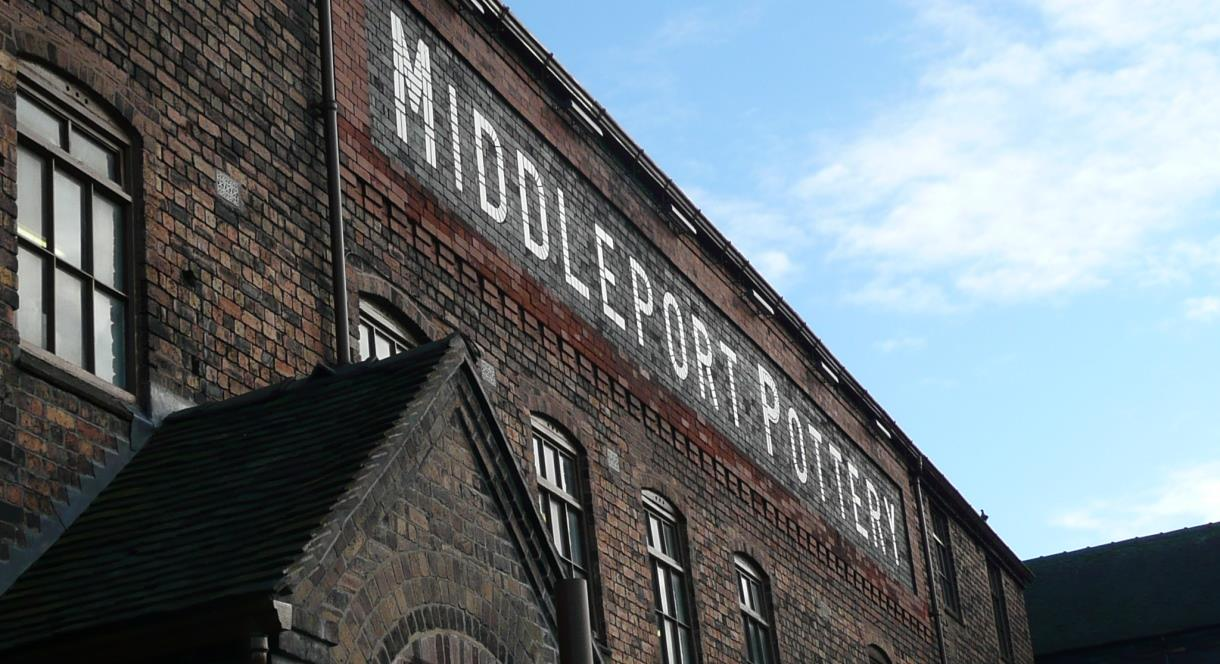 Middleport Pottery Exterior