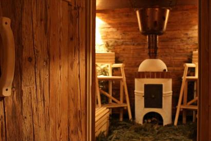 Farmer's Sauna at the Mill Wheel Spa