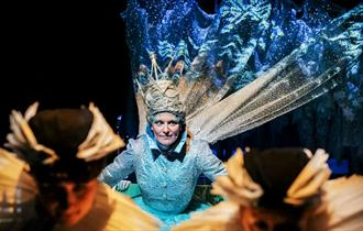scene from the Snow Queen- picture by Andrew Billington