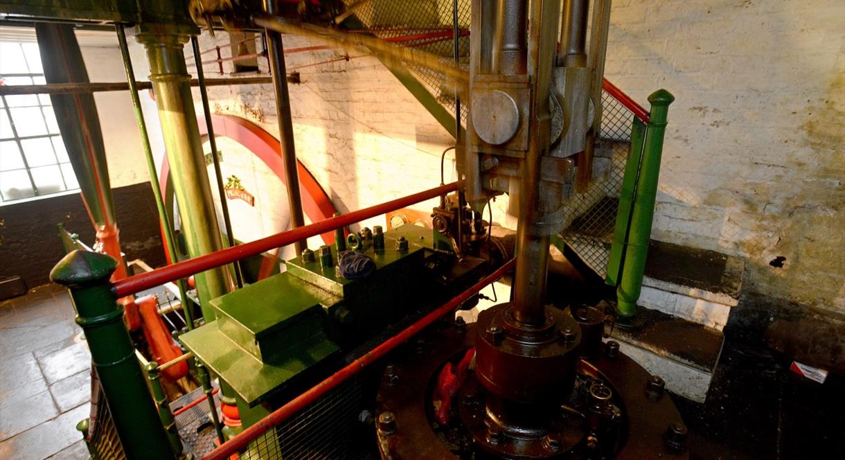 James Watt Bicentenary Commemoration with Engine and Mill 'In Steam'