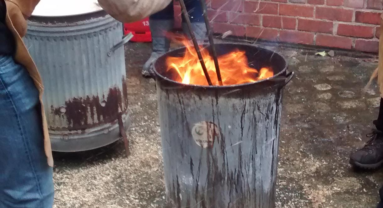 Raku Pottery Firing Workshops