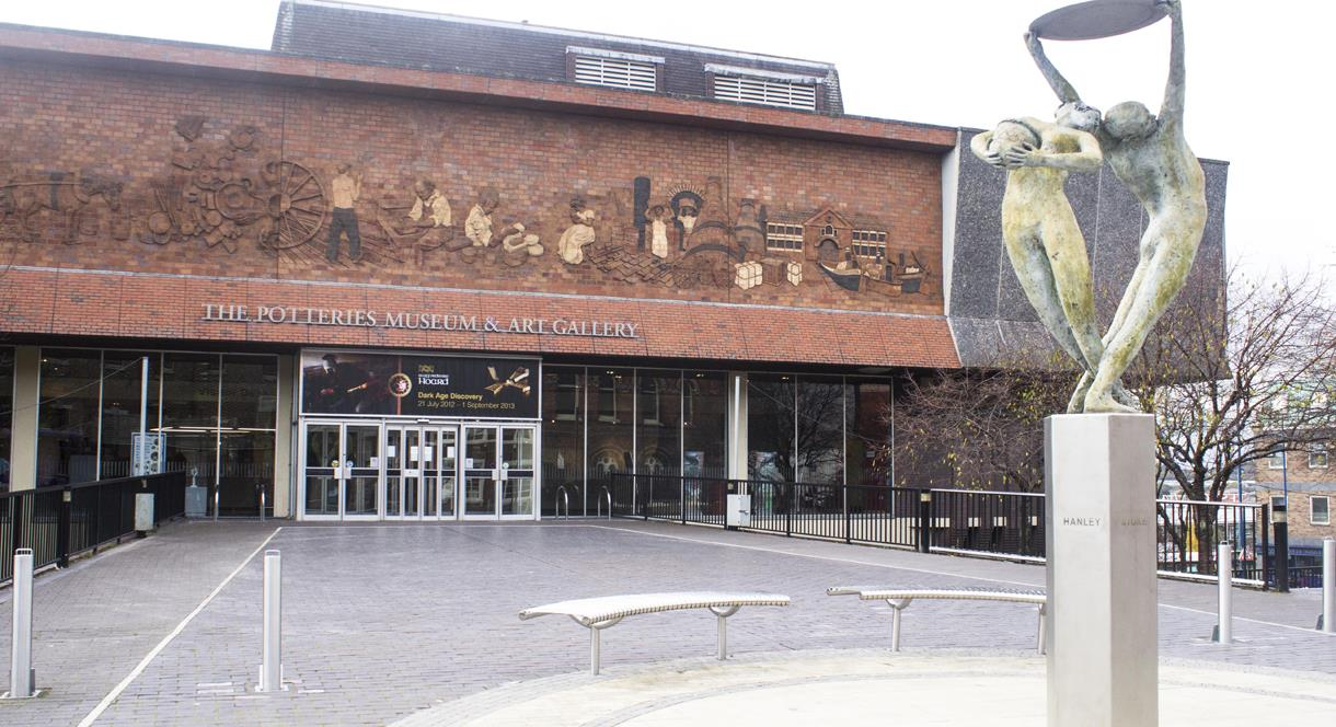 Stoke TIC is housed in the beautiful  Potteries Museum and Art Gallery
