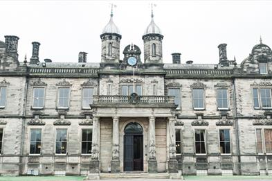 Exterior view of Sandon Hall