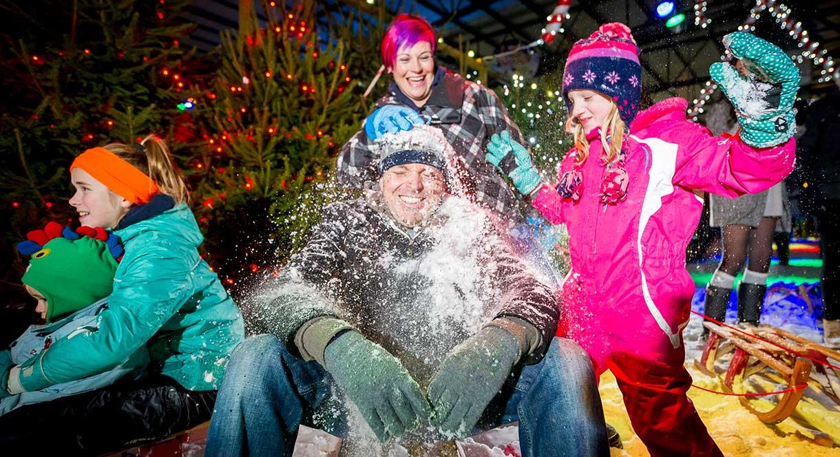 Get the family together for some real snow play at Tamworth SnowDome this Christmas.