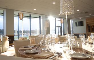 Banqueting event in the restaurant
