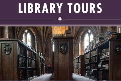 Lichfield Cathedral Library Tours