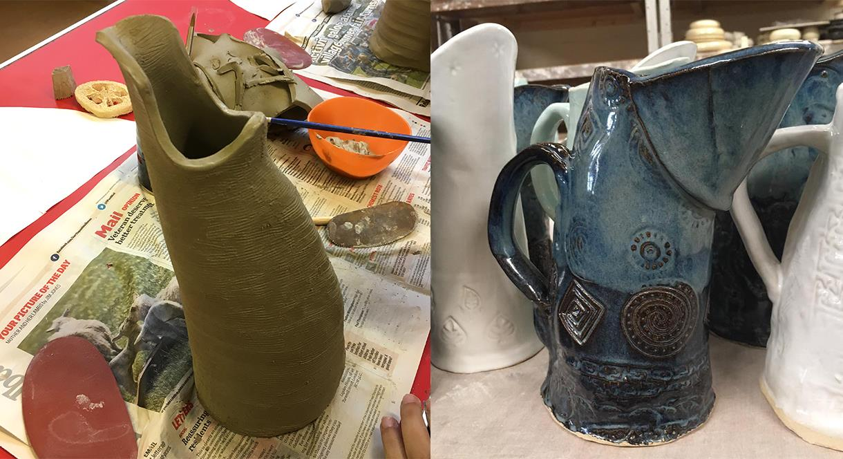 Make your Christmas - Handmade Jug at Middleport Pottery